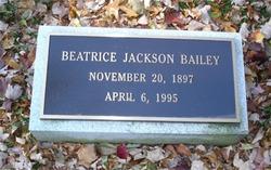Beatrice <I>Jackson</I> Bailey