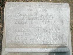 Elizabeth Albertine <I>Taylor</I> Hall
