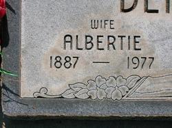 Albertie <I>Ogles</I> Dennis