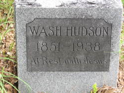 "Washington ""Wash"" Hudson"