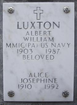 Albert William Luxton