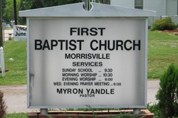 Morrisville First Baptist Church Cemetery