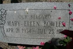 Mary Ellen <I>Watkins</I> Bowles