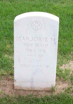 Marjorie M Welch
