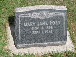 Mary Jane <I>Abraham</I> Ross