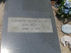 Elizabeth Boyer Hussey
