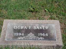 Ocra Fay <I>Adams</I> Baker