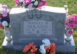 Frances M Holasek