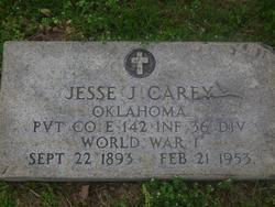 Pvt Jesse J. Carey