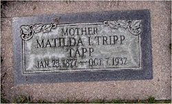 Matilda <I>Ince Tripp</I> Tapp