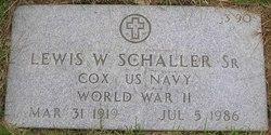 Lewis W Schaller, Sr