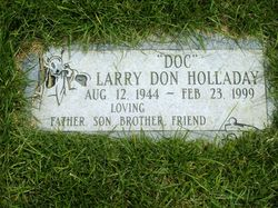 """Larry Don """"Doc"""" Holladay"""