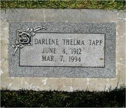 Thelma Darlene Tapp