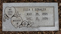 Eliza Isabell <I>Bentley</I> Henager