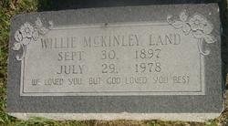Willie McKinley Land