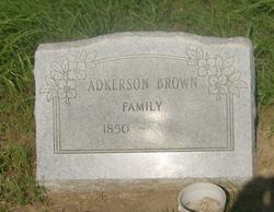 Adkerson Brown