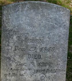 Julia Frances <I>Bell</I> Hill