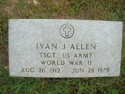 TSGT Ivan J Allen