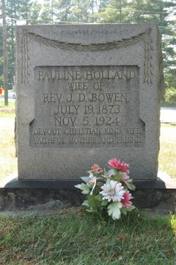 Alberta Pauline <I>Holland</I> Bowen