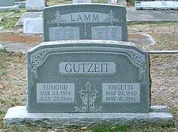 Brigetta <I>Lamm</I> Gutzeit