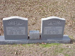 "Marguret Melvina ""Mattie"" <I>Pickett</I> Caldwell"