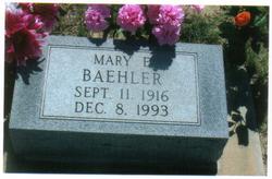 Mary Elizabeth <I>Sullivan</I> Baehler