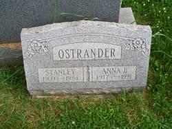 Anna Bensley <I>Groff</I> Ostrander