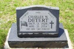 Charles W Detert