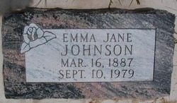 Emma Jane <I>Willden</I> Johnson