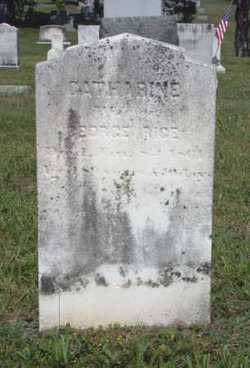 "Anna Catherine ""Kathy"" <I>Geirich</I> Rice"