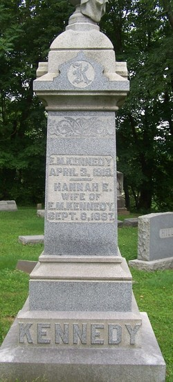 Hannah E. <I>Hall</I> Kennedy