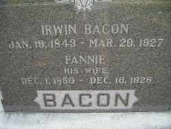 Fannie <I>Crall</I> Bacon