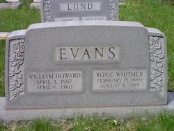 Roxie <I>Whitmer</I> Evans