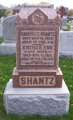 Esther B. <I>Erb</I> Shantz