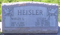 Louisa J. <I>Cresswell</I> Heisler