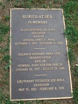 Ellen Bernard <I>Lee</I> Rhea