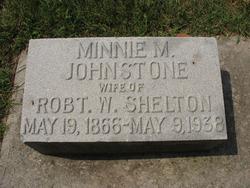 Minnie M <I>Johnstone</I> Shelton