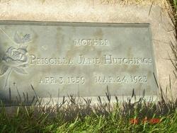 Priscilla Jane <I>Barney</I> Hutchings