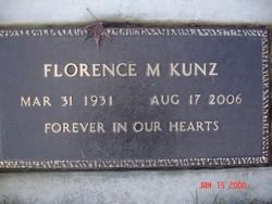 Florence M Kunz