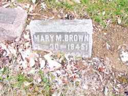 Mary M. <I>Stratton</I> Brown