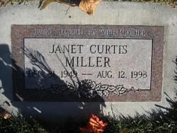 Janet <I>Curtis</I> Miller
