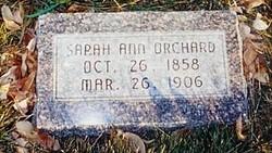 Sarah Ann <I>Kemp</I> Orchard