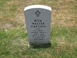 Rita Agnes <I>Walter</I> Gaetjen