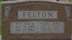 Pearl Jane <I>Foster</I> Felton