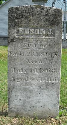 Edson J Preston