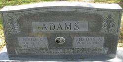 Myrtle Frances <I>Cagle</I> Adams