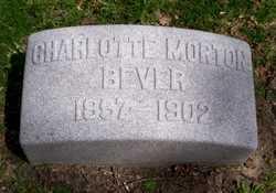 Charlotte <I>Morton</I> Bever