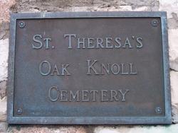Saint Theresas Oak Knoll Cemetery