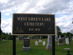 West Green Lake Cemetery