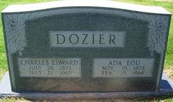 """Charles Edward """"Skipper"""" Dozier"""